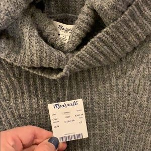 NWT Madewell 100% wool pullover vest